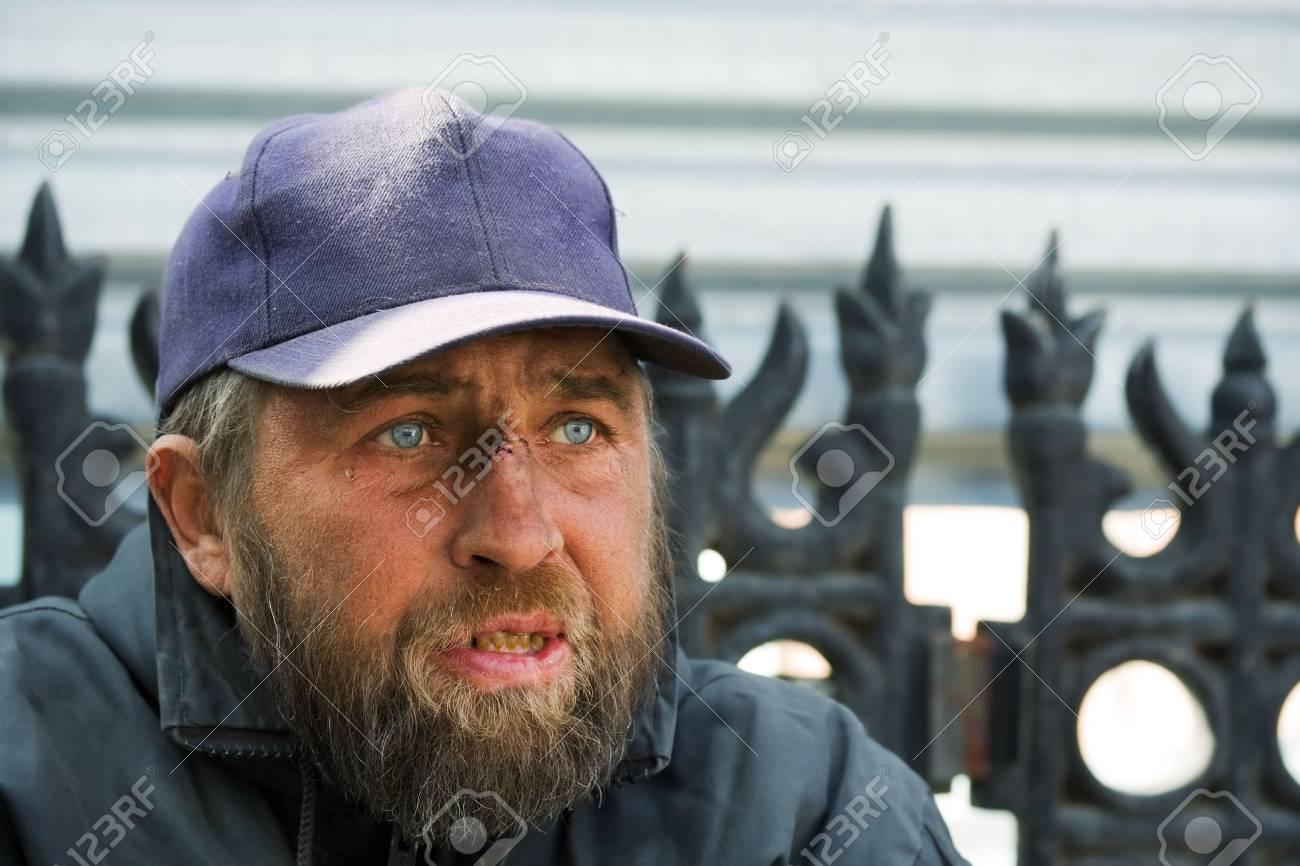 Homeless man. Stock Photo - 5063749