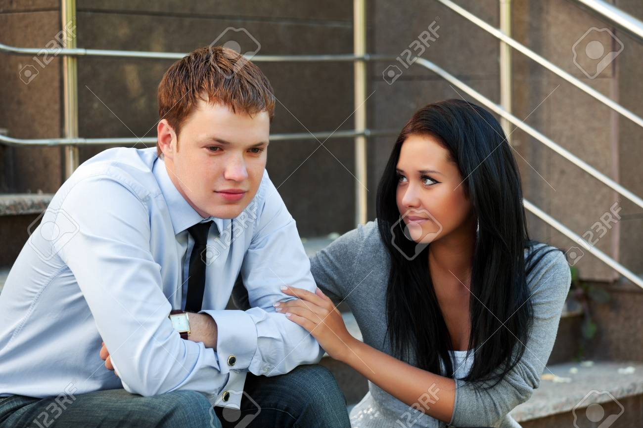 Young businessman in depression Stock Photo - 9172391