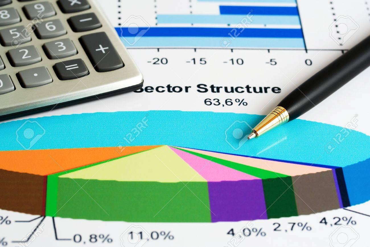 Stock market sector analysis Stock Photo - 12398814