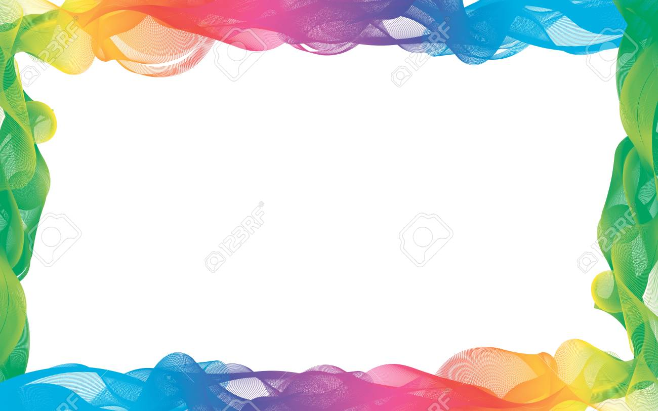 Rainbow Color Frames Royalty Free Cliparts, Vectors, And Stock ...