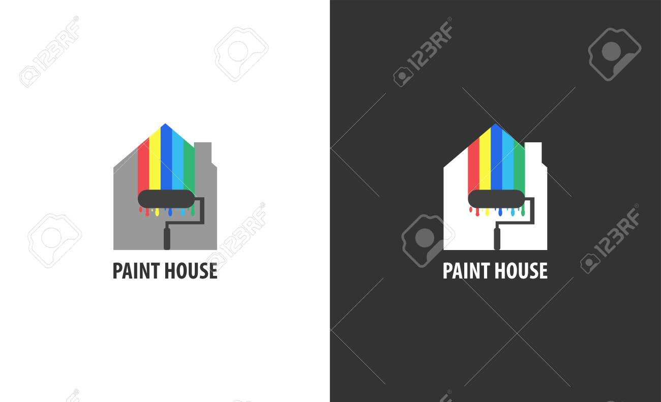 Real estate logo isolated. House vector image - 130840678