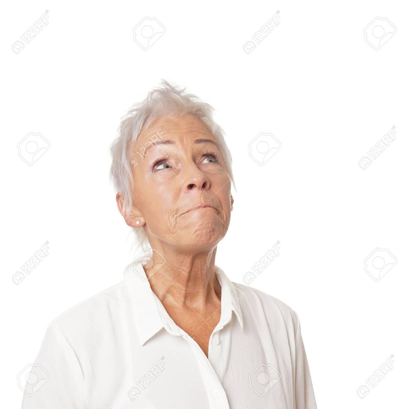 Sucht ältere frau Ältere Frau