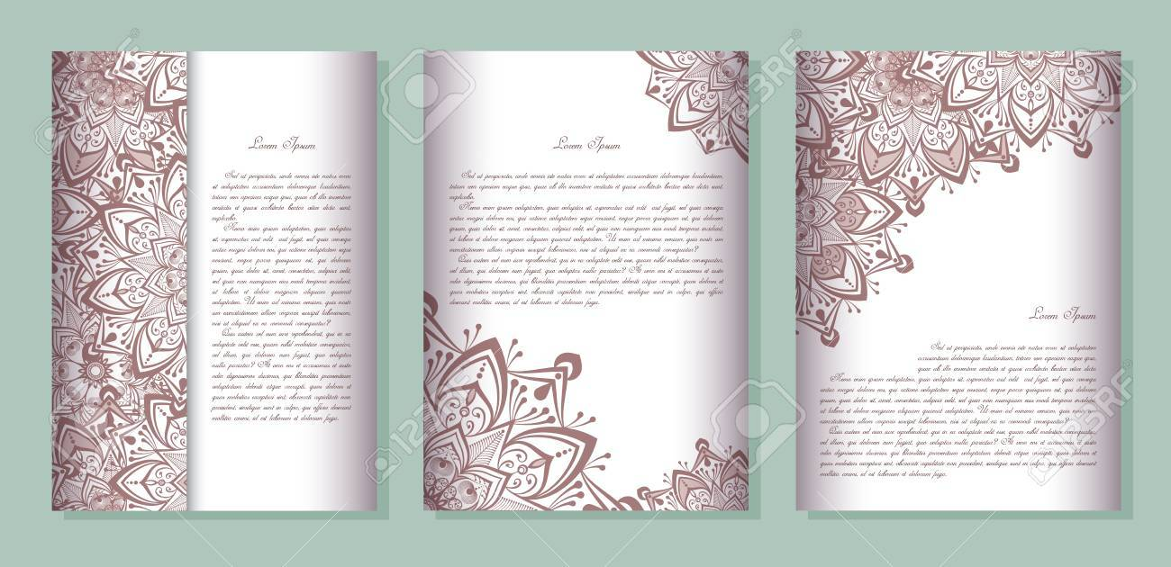 Book Cover Page Design Vector