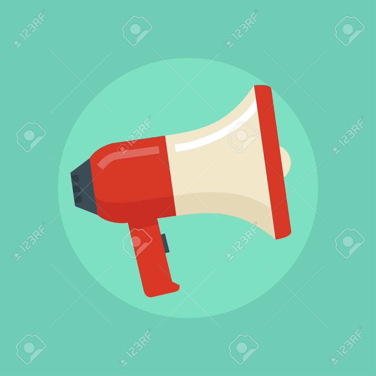 loudspeaker vector illustration megaphone flat symbol loudspeaker royalty free cliparts vectors and stock illustration image 54630347 loudspeaker vector illustration megaphone flat symbol loudspeaker