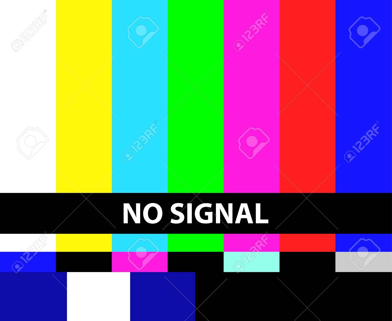 No TV signal illustration - 92591237