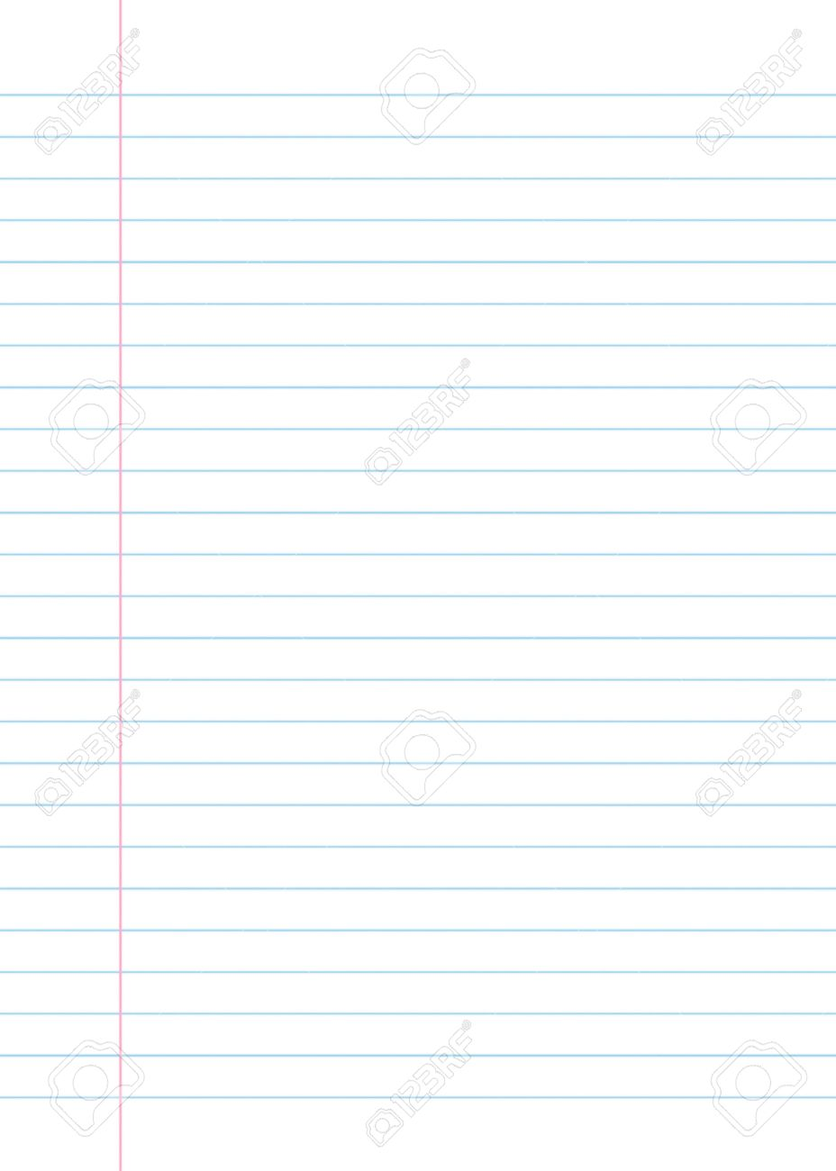 Blank Lined Paper Texture From A Notebook Or Notepad Great For – Design Paper for Writing
