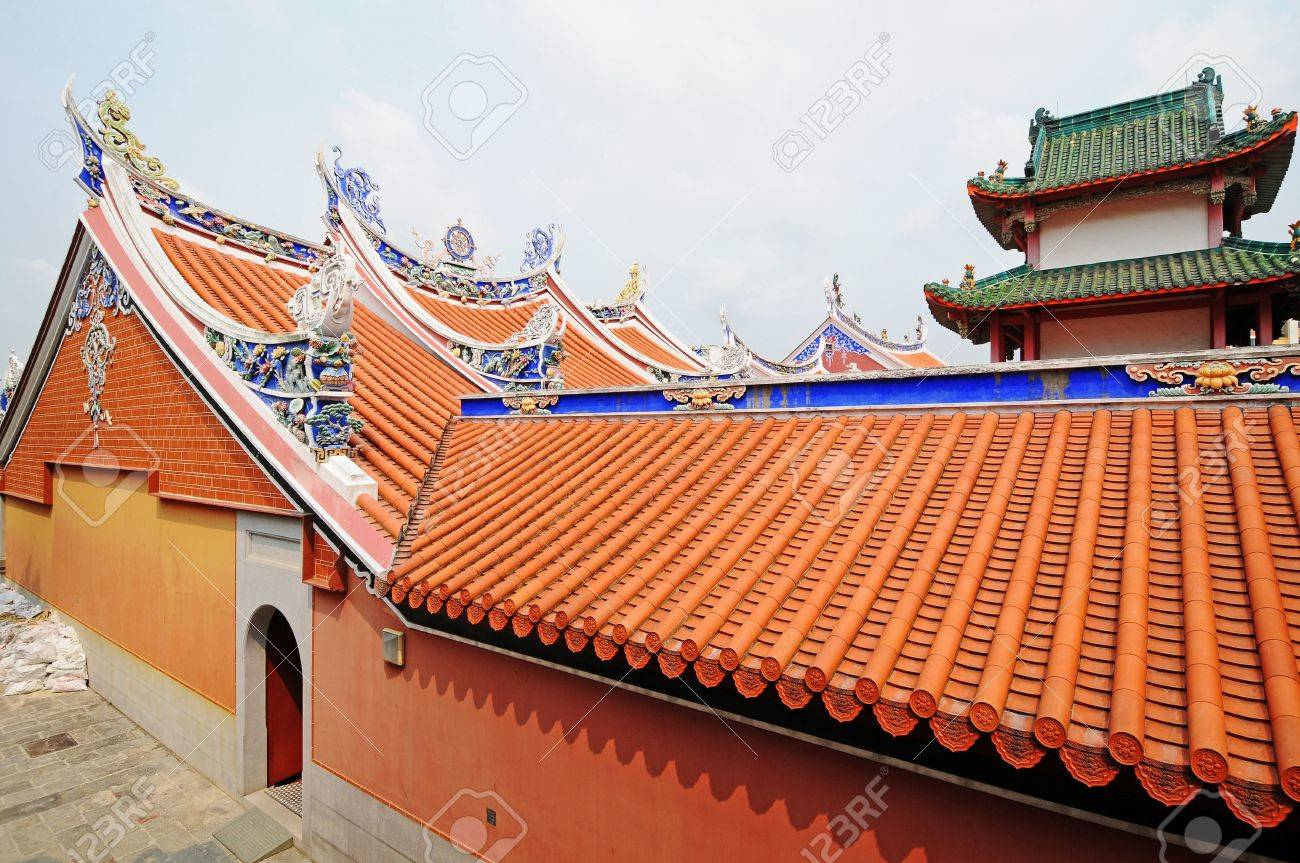 Roof Design Of A Temple Stock Photo Picture And Royalty Free Image Image 5955173
