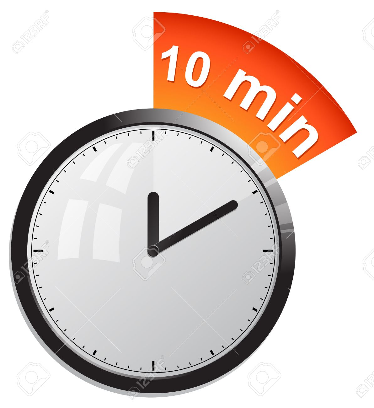 Clock, Timer 10 Minutes Royalty Free Cliparts, Vectors, And Stock ...