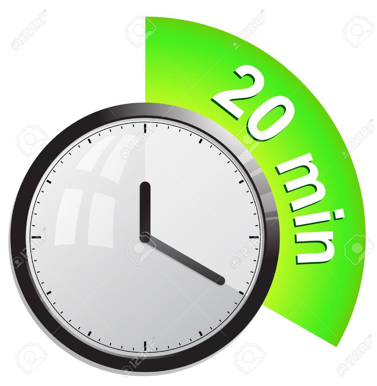 Clock timer 20 minutes royalty free cliparts vectors and stock clock timer 20 minutes stock vector 28133890 publicscrutiny Image collections