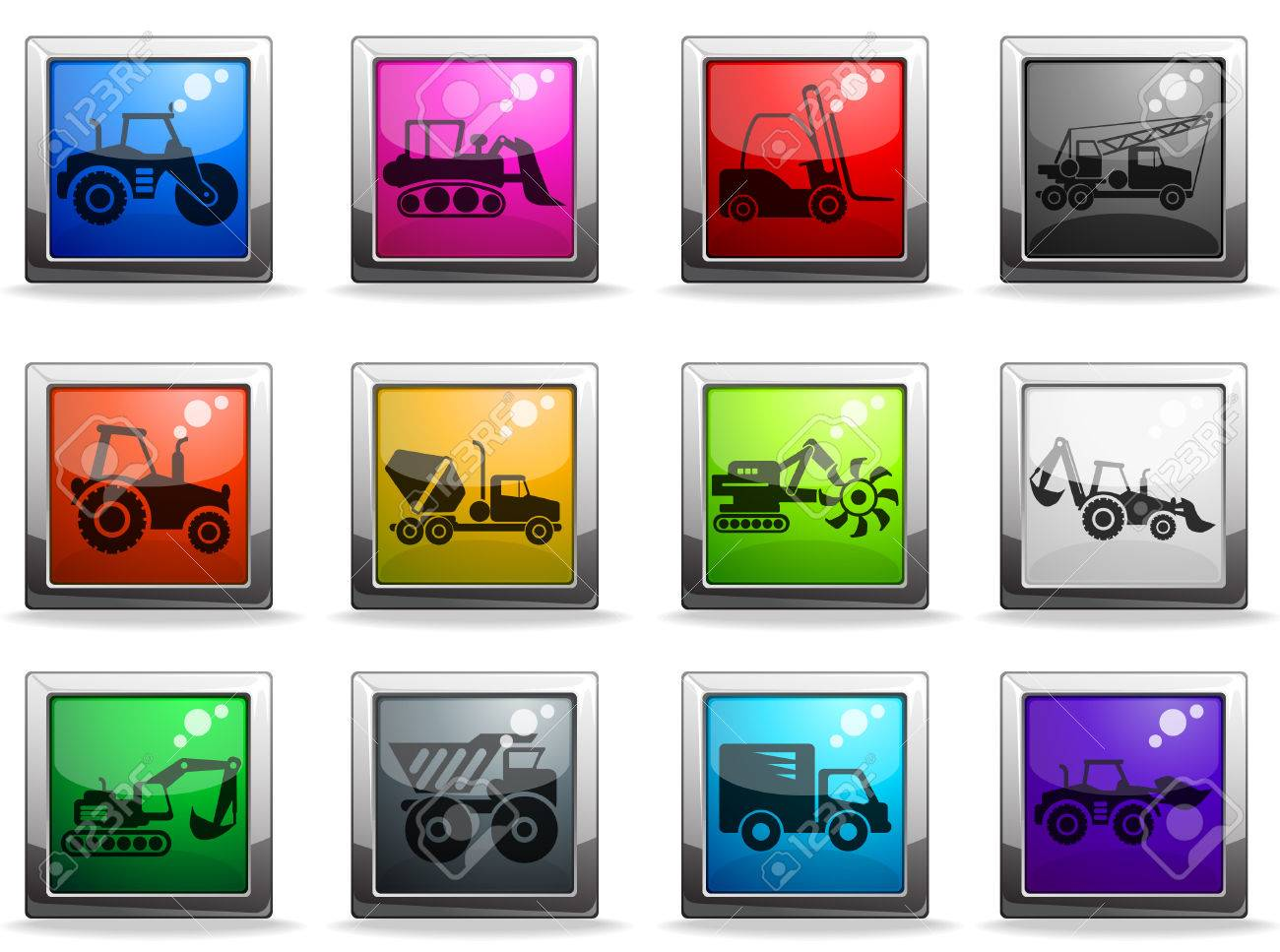 Symbols of construction machines royalty free cliparts vectors symbols of construction machines stock vector 28223903 buycottarizona Image collections
