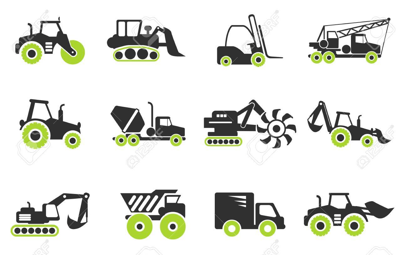 Symbols of construction machines royalty free cliparts vectors symbols of construction machines stock vector 41774502 buycottarizona Image collections