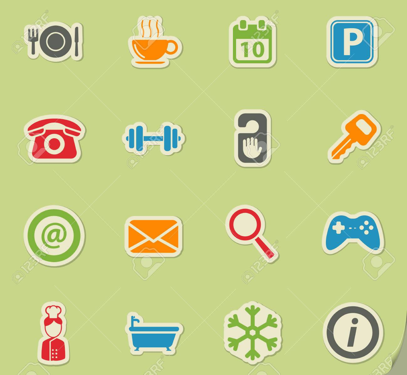 A Hotel Simply Hotel Simply Symbol For Web Icons And User Interface Royalty Free