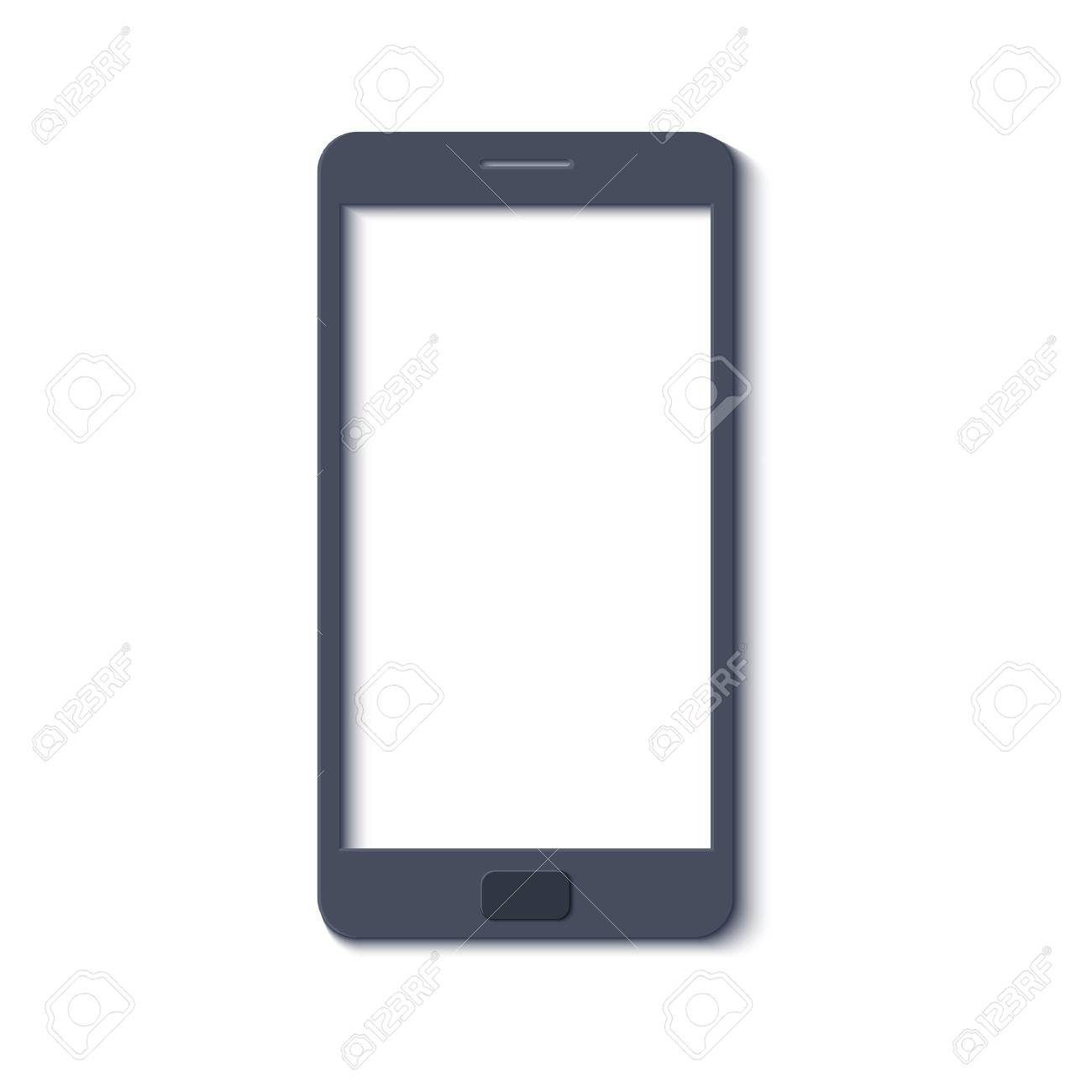 Professional cell phone screen hd 1920 stock vector (royalty free.
