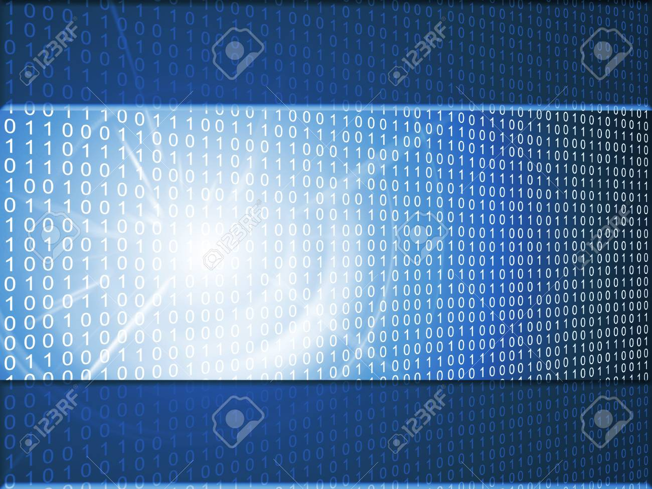 abstract binary background Stock Photo - 7507076