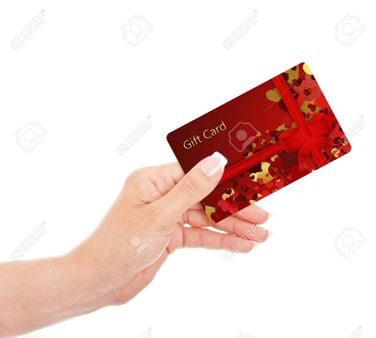 Hand holding gift card isolated over white background stock photo hand holding gift card isolated over white background stock photo 22428755 negle Gallery