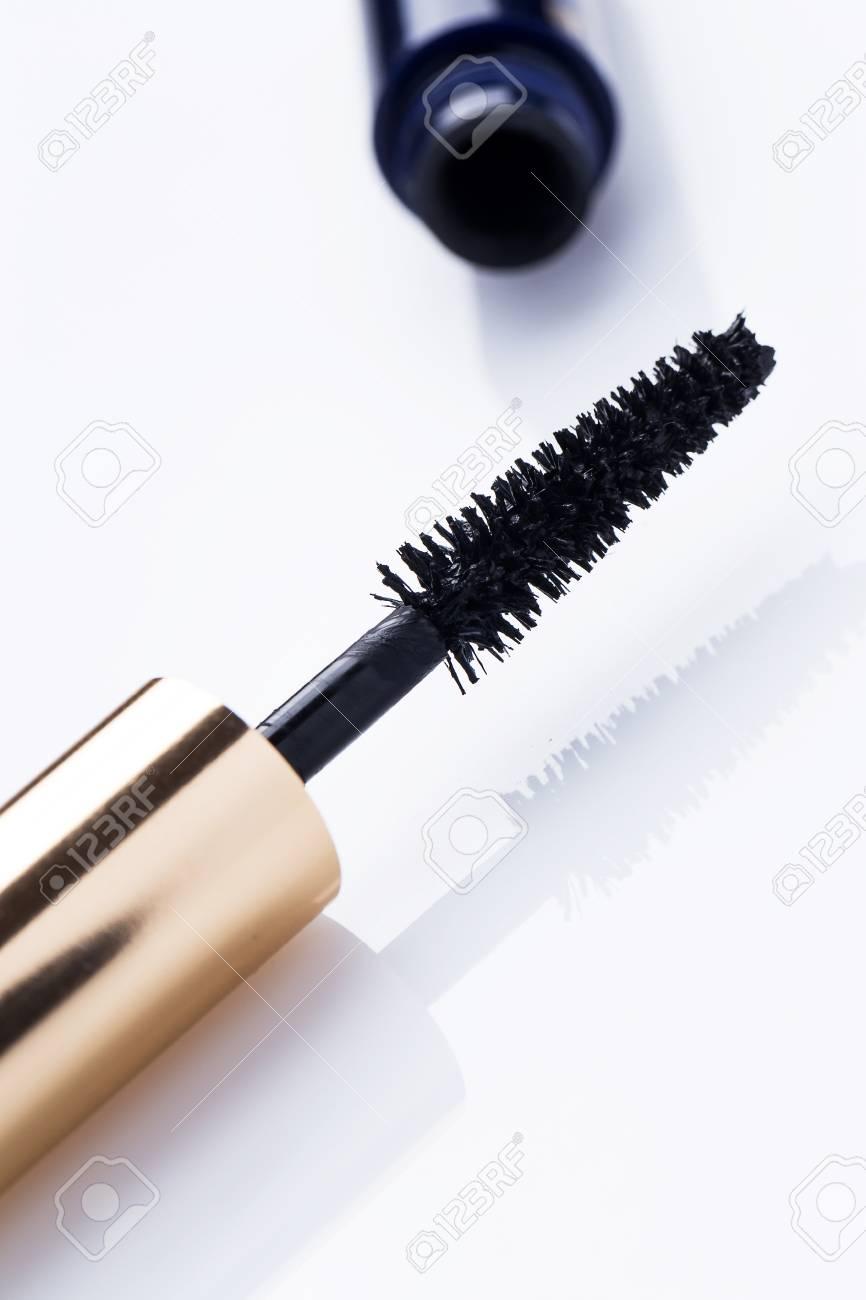 Close up of mascara brush Stock Photo - 24452694