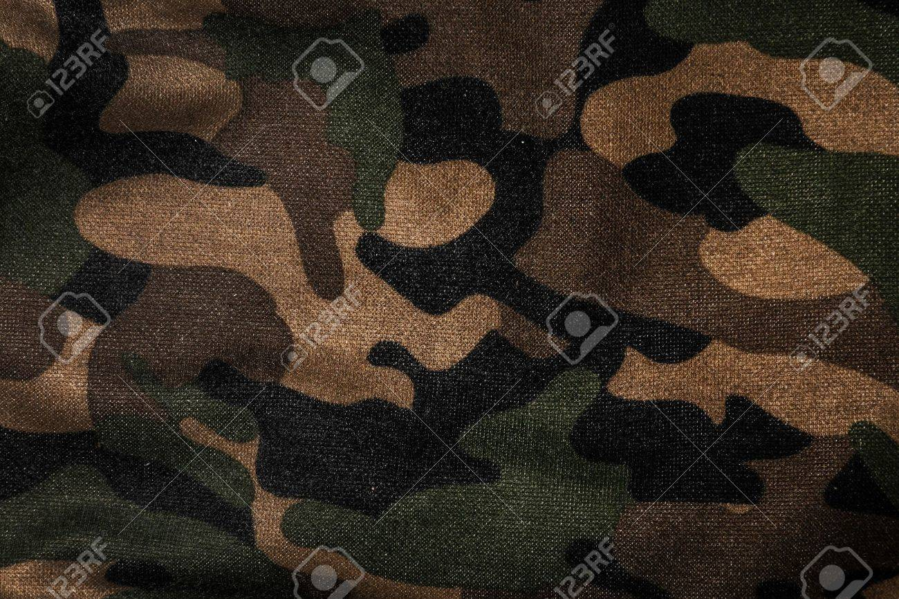 Texture of a camouflage fabric - 40304131