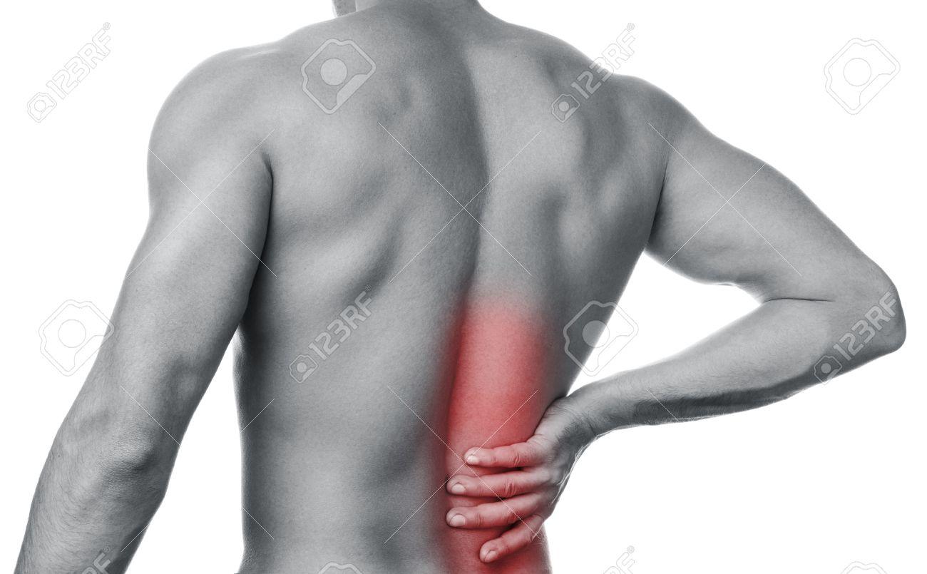 dolor en la espalda parte baja