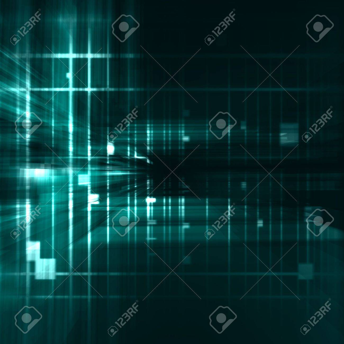 abstract turquoise background Stock Photo - 3543466