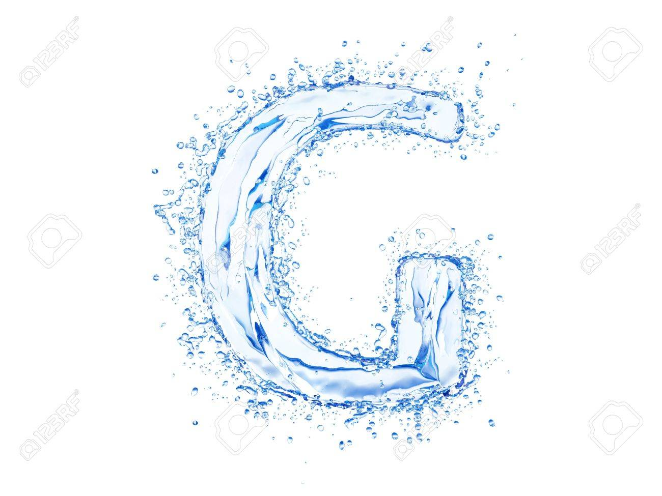 Water splash letter g upper case stock photo picture and royalty stock photo water splash letter g upper case altavistaventures Images