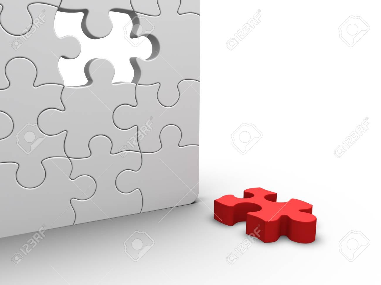 Jigsaw Puzzle Stock Photo - 9548354