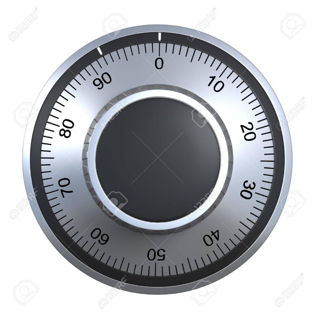 combination lock (isolated) Stock Photo - 9549027