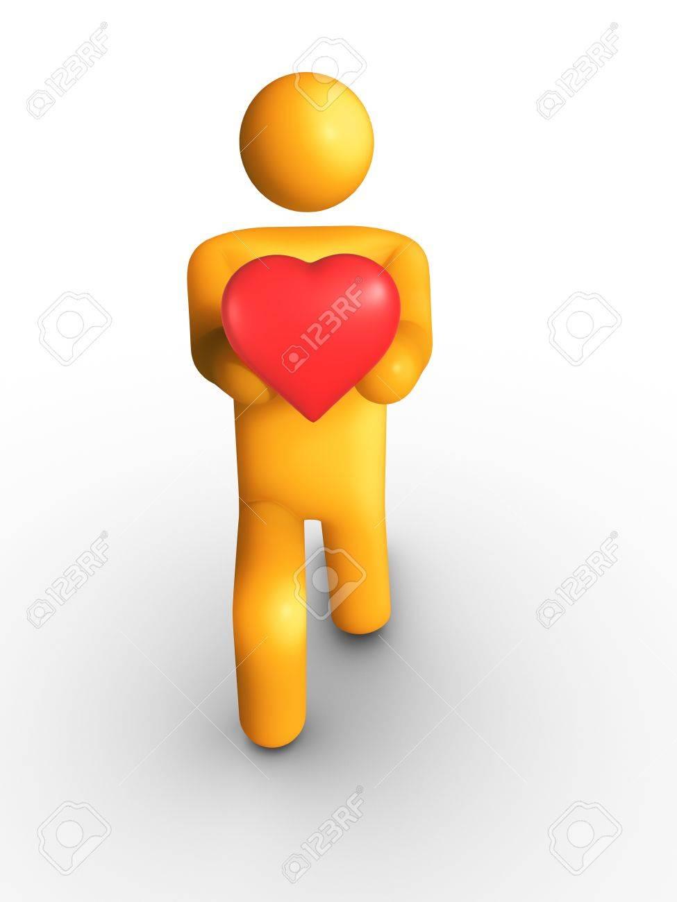 My Heart Stock Photo - 9710605