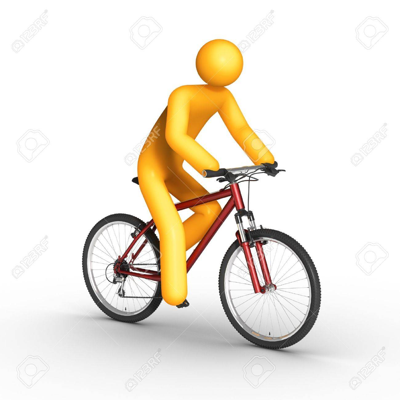 Biker. Stock Photo - 9710606