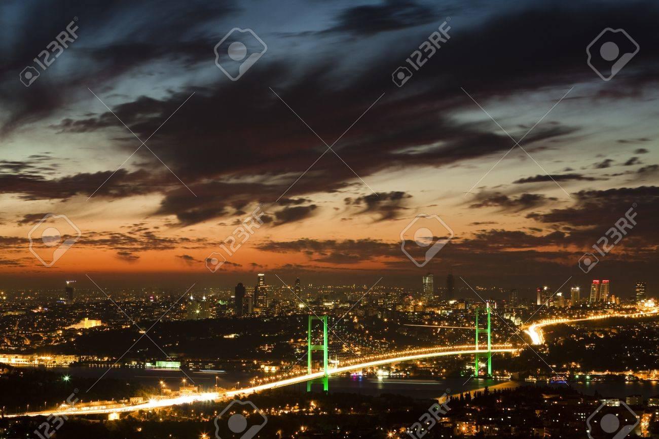 Bosphorus Bridge Stock Photo - 9711077