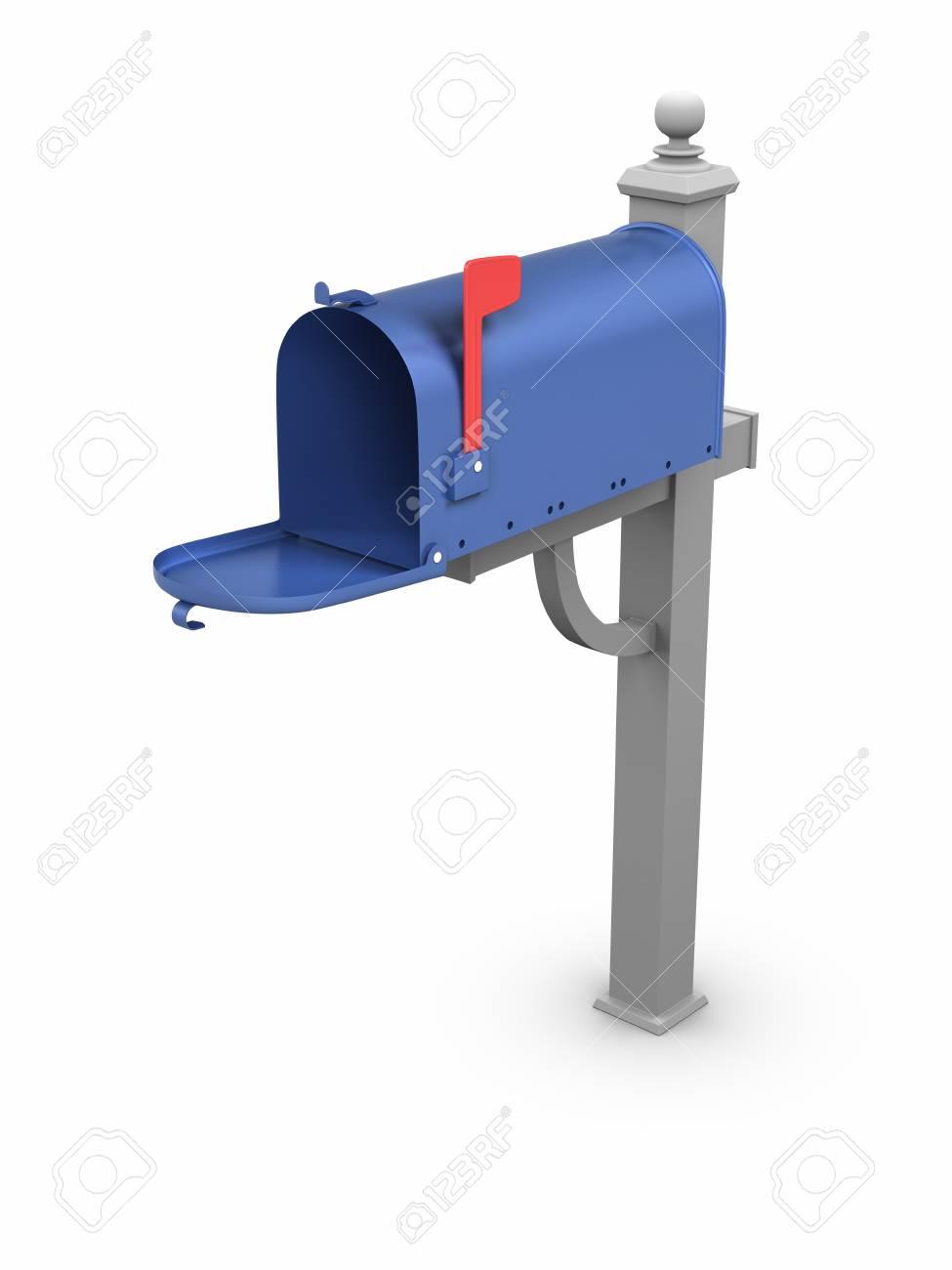 Opened Mailbox. Stock Photo - 9943184