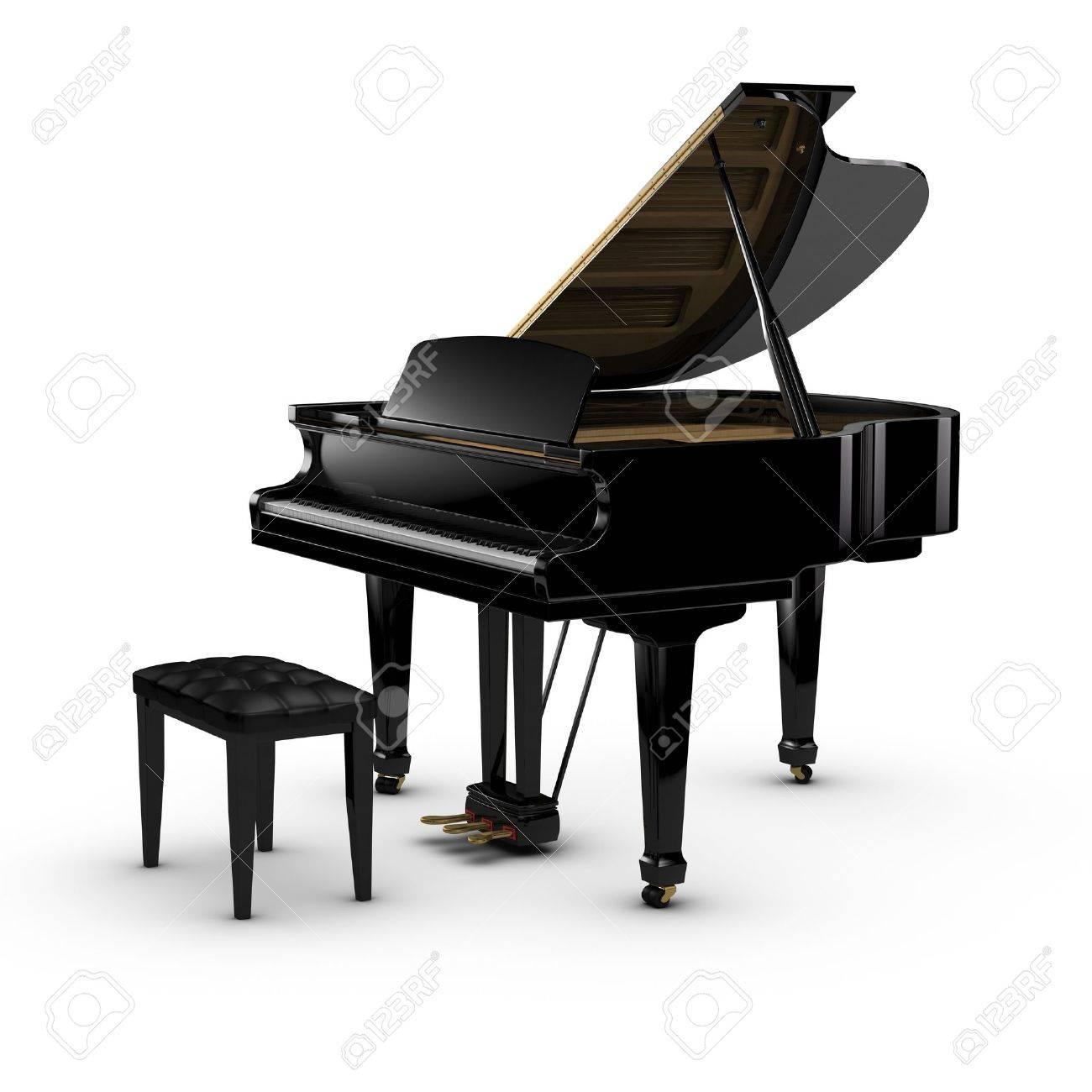 Grand Piano Stock Photo - 10413134