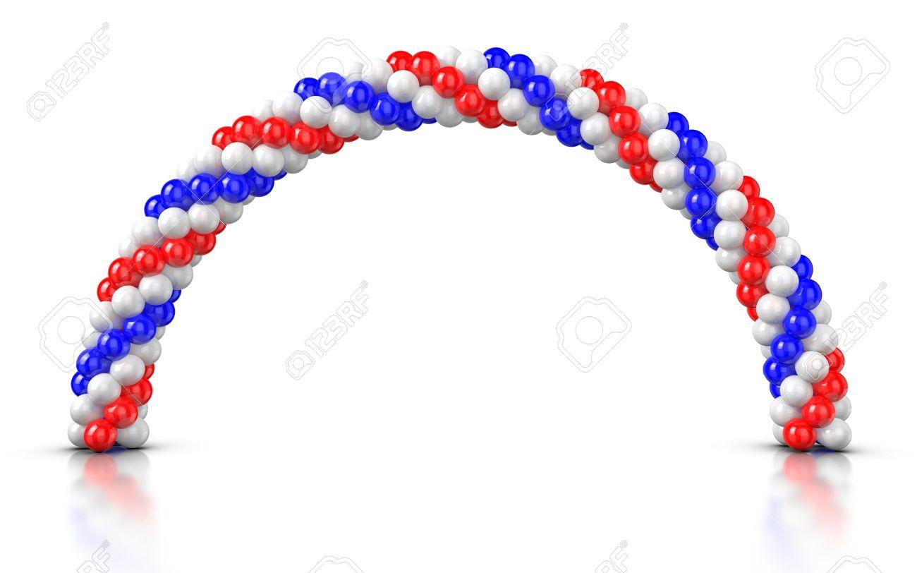 Флаг из шаров