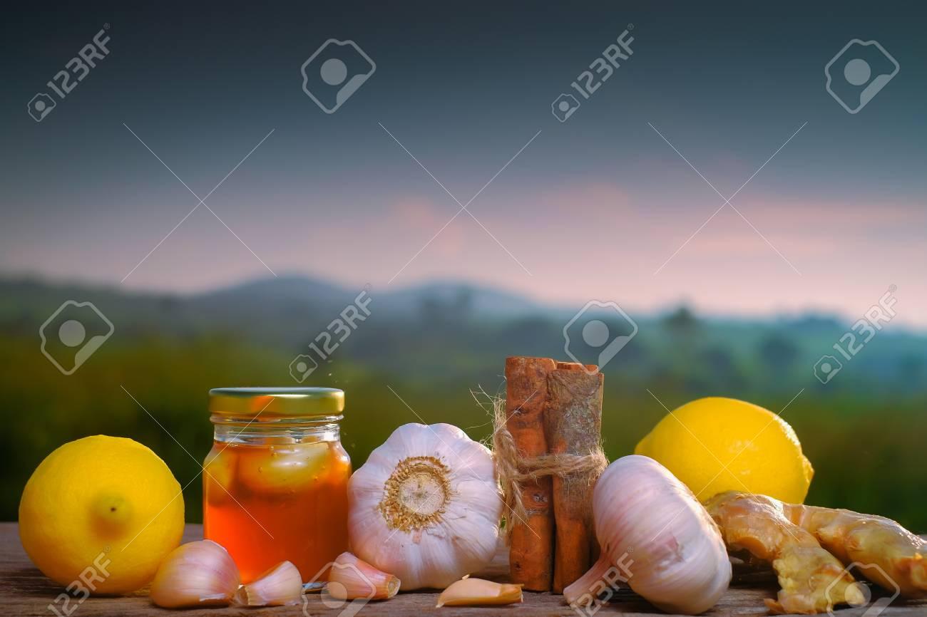 Te de canela ajo miel y limon