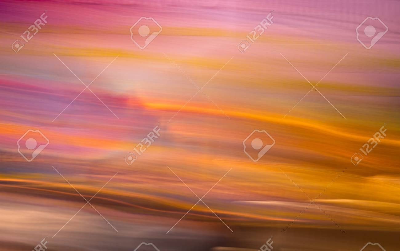 a motion blurred image of stage colorful backdrop with bright light Stock Photo - 10868809