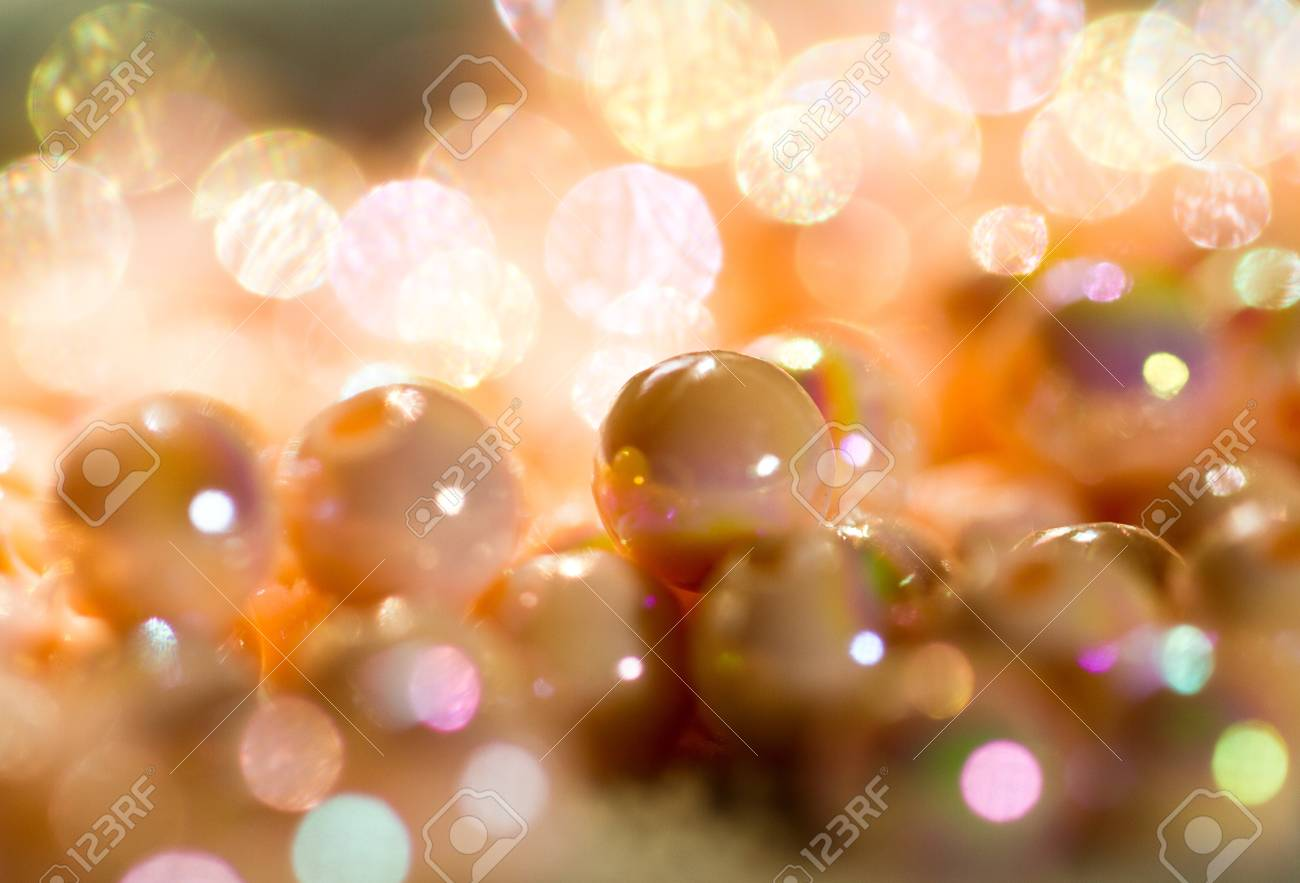 beads background for christmas Stock Photo - 11344754