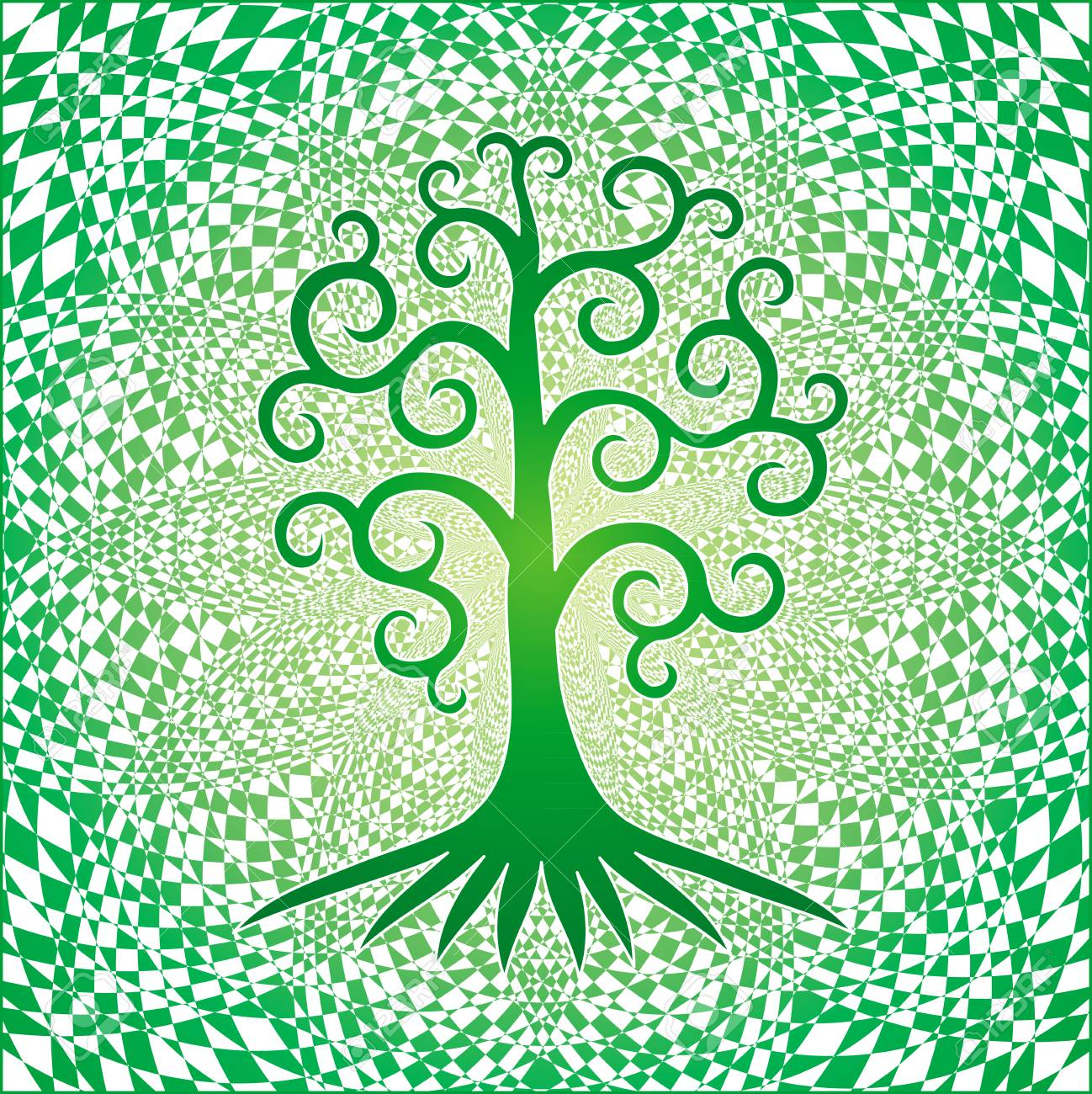 Square Tree of Life