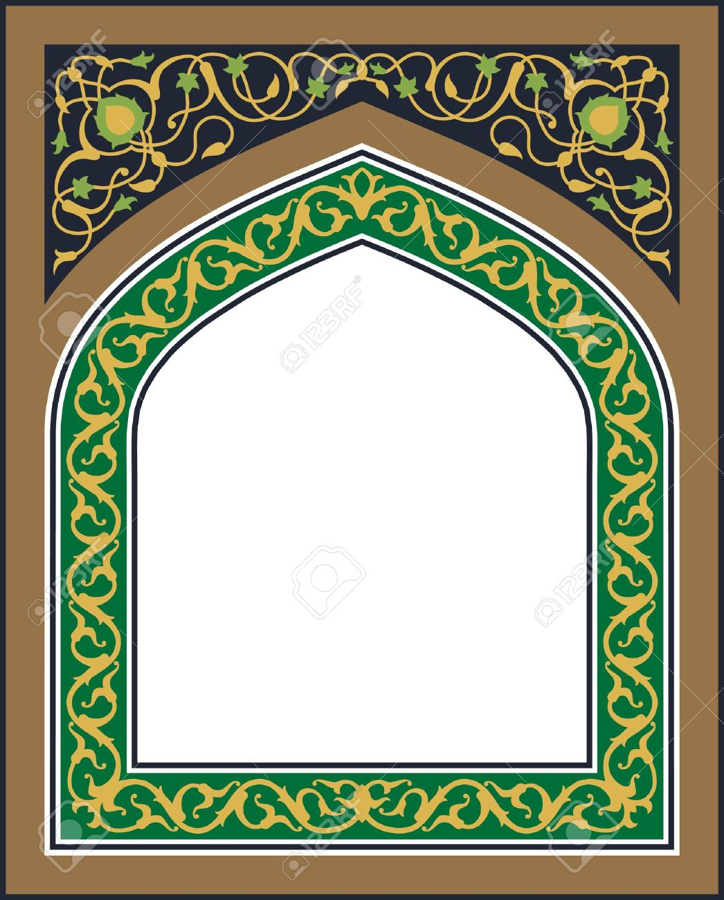Traditional Arabic Frame Royalty Free Cliparts, Vectors, And Stock ...