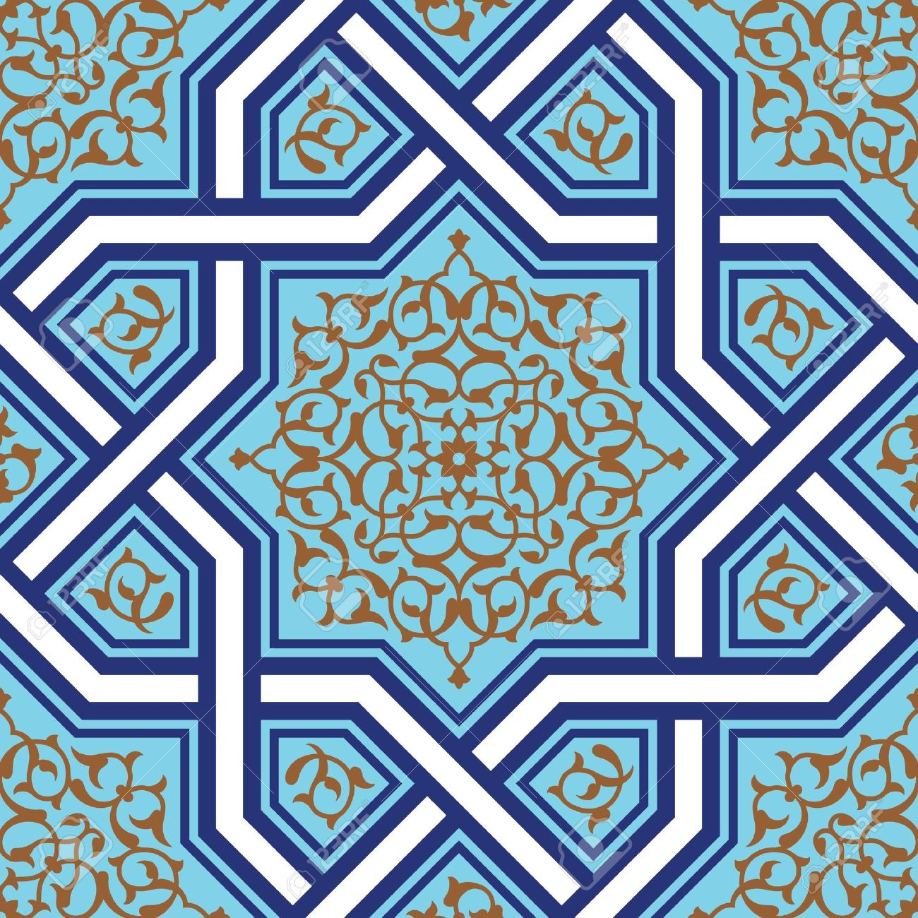 Magnificent 16X32 Ceiling Tiles Big 18 Inch Floor Tile Regular 18 X 18 Ceramic Tile 20 X 20 Floor Tile Patterns Old 24 X 24 Ceiling Tiles Blue3 X 12 Subway Tile Traditional Arabic Design Royalty Free Cliparts, Vectors, And ..