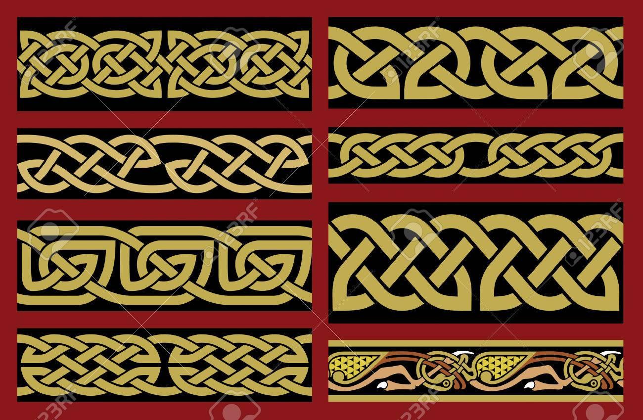 Traditional Saxon Design Stock Vector - 24959464