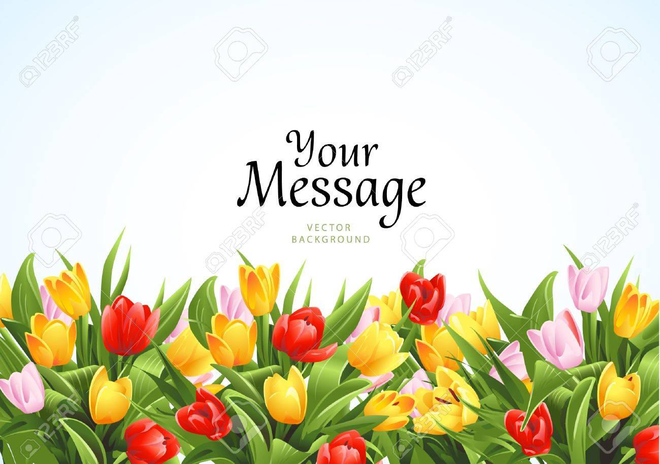 Flowers background Stock Vector - 15329188