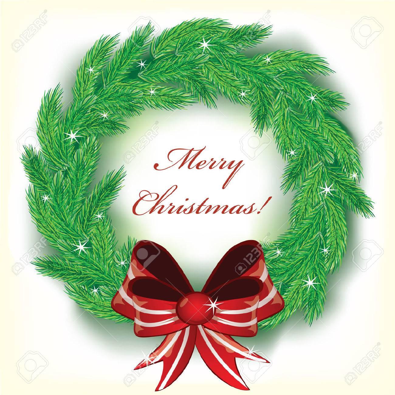 Christmas wreath Stock Vector - 8269335