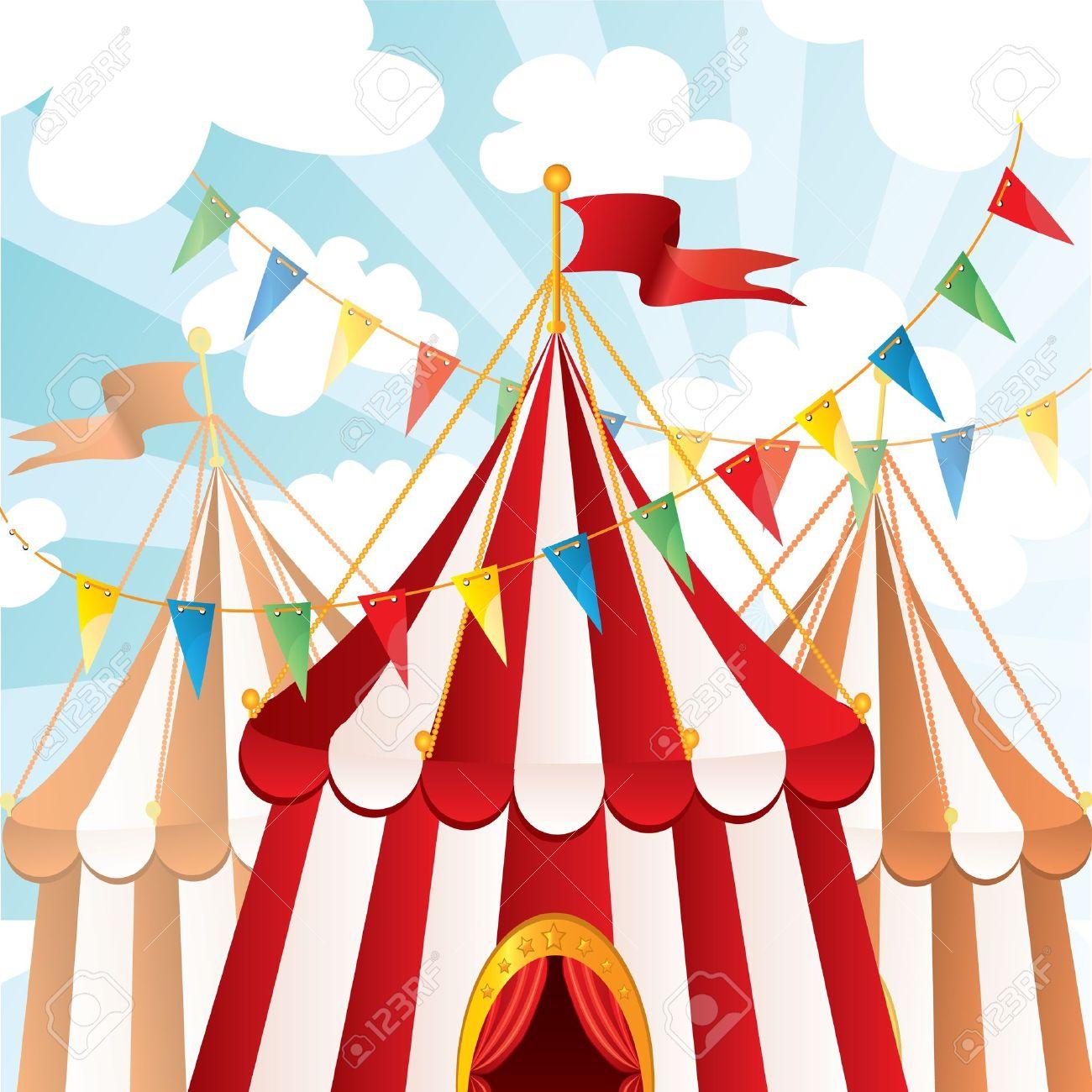 Circus background Stock Vector - 10133125