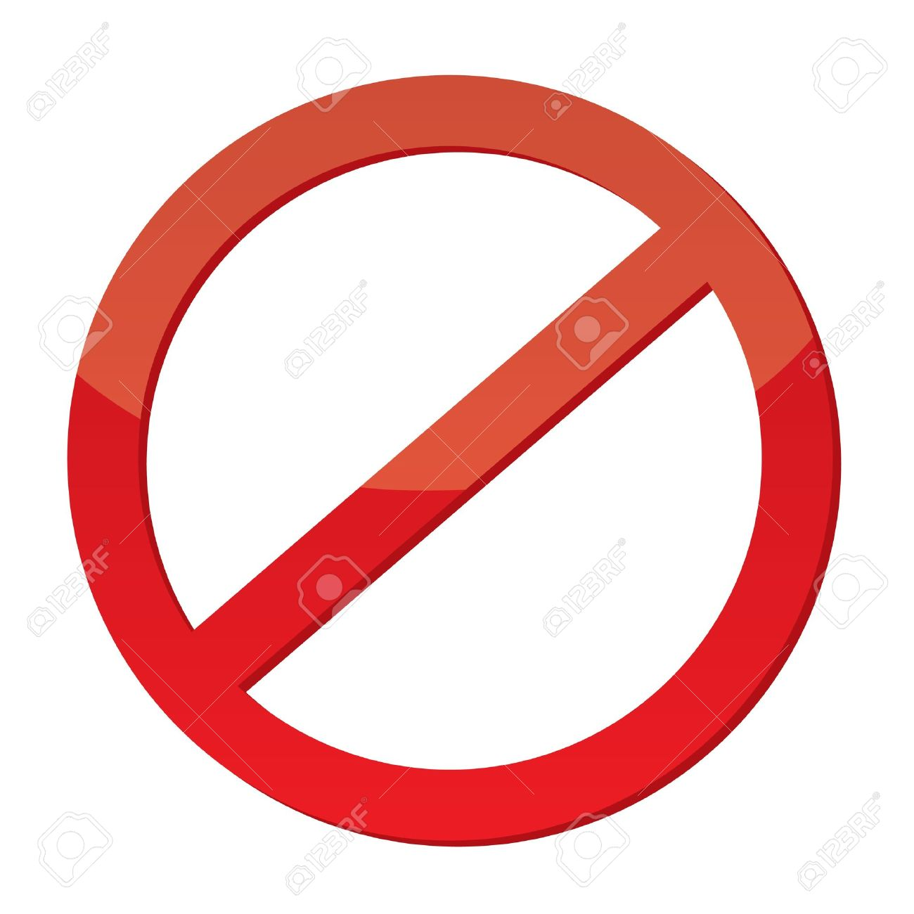 Not Allowed Sign Stock Vector - 15539549