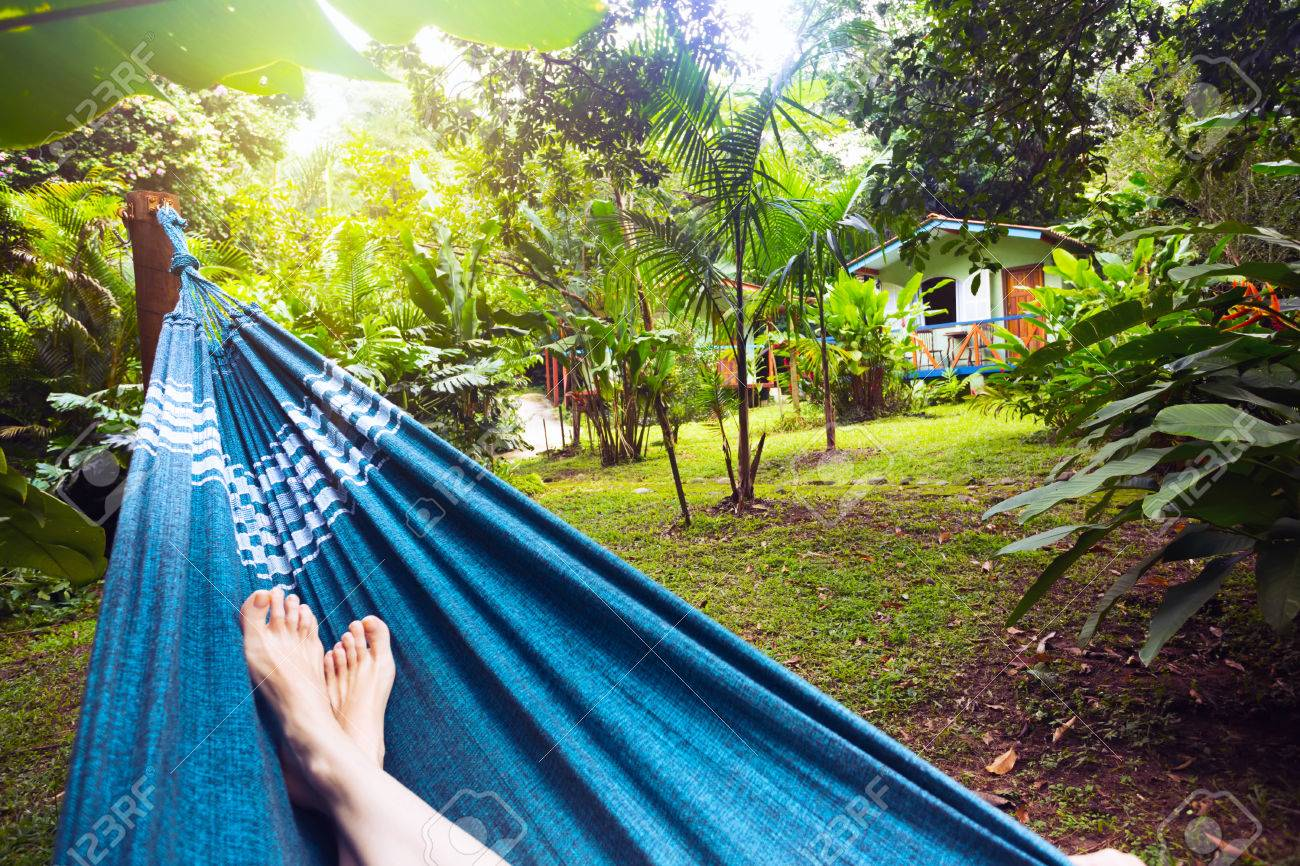 girl lying in a hammock in the tropical jungles of brazil  brasil stock photo   girl lying in a hammock in the tropical jungles of brazil  brasil      rh   123rf