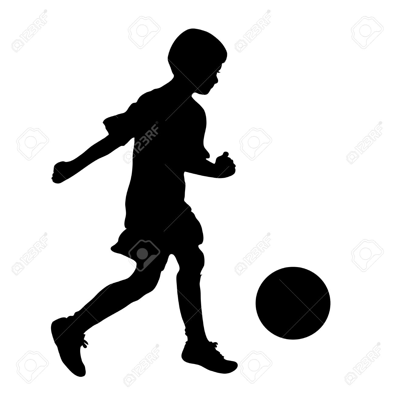 http://previews.123rf.com/images/azimage/azimage1006/azimage100600009/7520976-little-boy-football-player-silhouette-vector-illustration-Stock-Vector.jpg