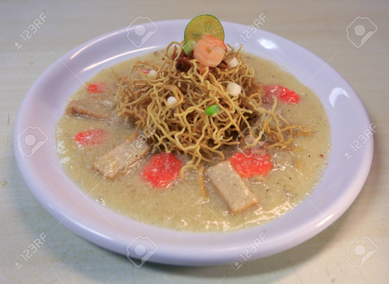 Mie Titi Khas Makasar Makassar Typical Titi Noodle Dish Stock Photo Picture And Royalty Free Image Image 132574965