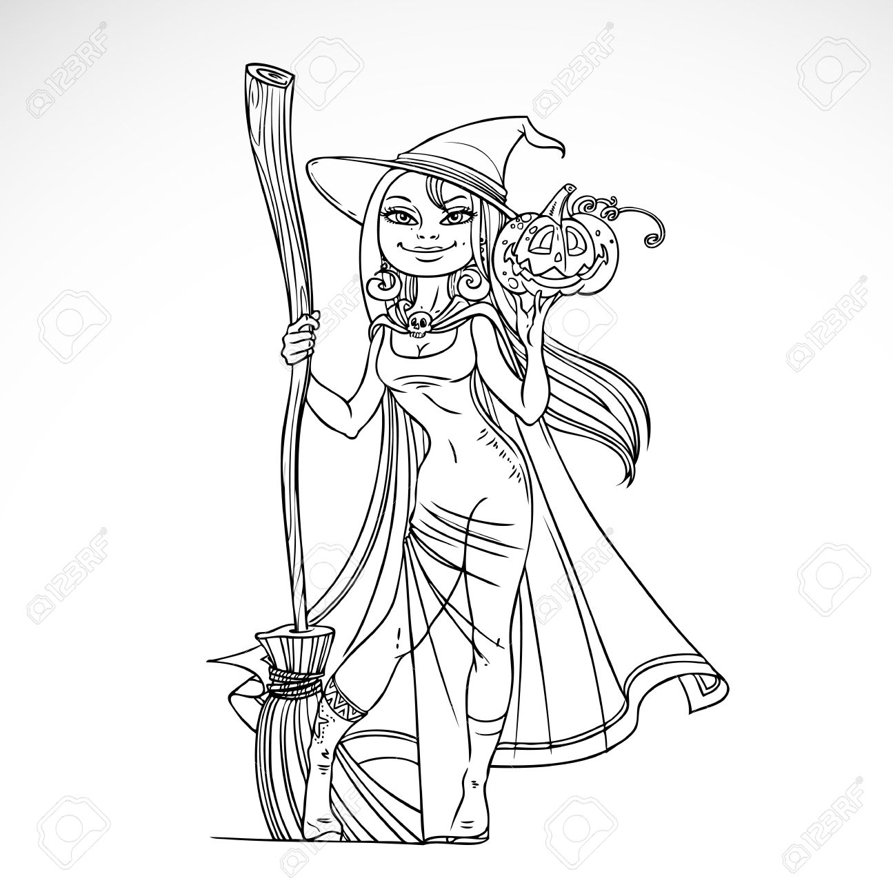 Lujoso Lindas Páginas Para Colorear De Halloween Bosquejo - Dibujos ...