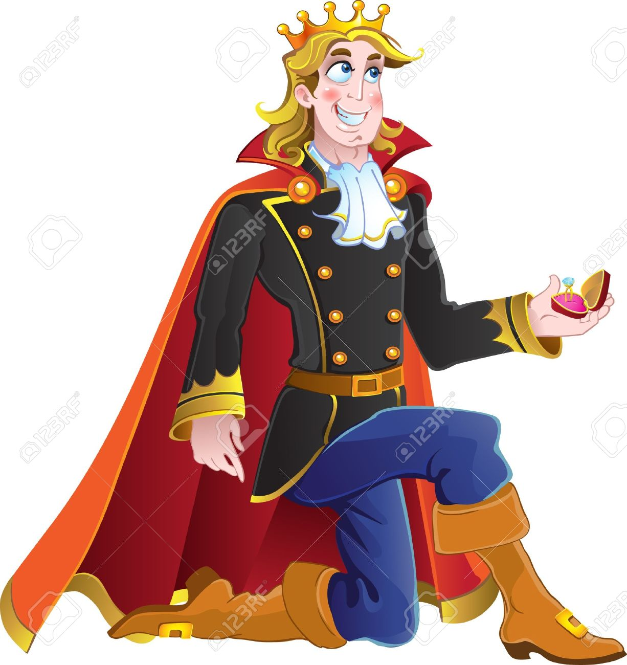 1 147 prince charming stock vector illustration and royalty free