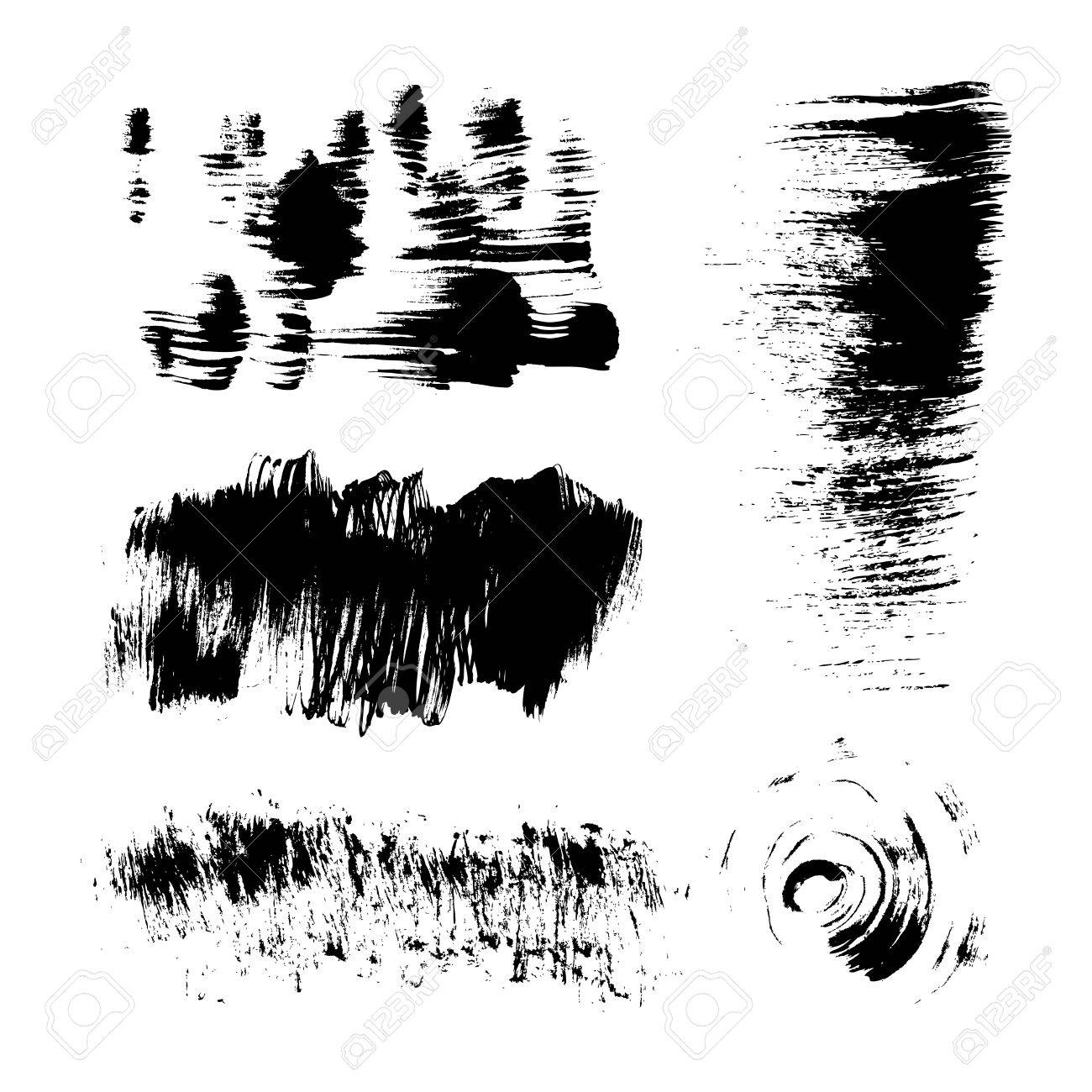Hand-drawing texture stiff brush strokes Stock Vector - 16683381