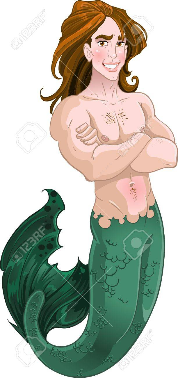 Mermaid boy Stock Vector - 17316988